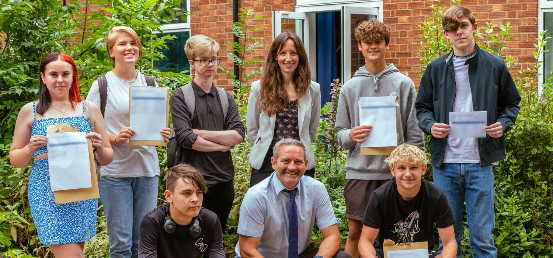 SET Beccles students celebrate GCSE results 2021